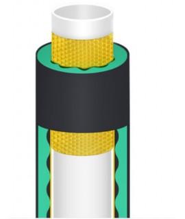 1米X1米 5CM 厚 帶背膠 水管隔音棉 波浪棉