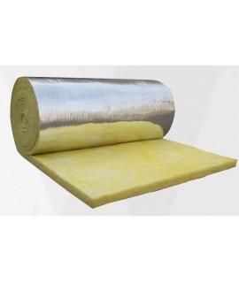 1.2米X20米 5CM 厚 包鋁箔 玻璃纖維吸音棉 (20kg密度) 20米一卷裝