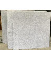 1.22米X1.21米 聚酯纖維吸音板 (9MM厚) 銀灰色