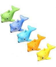 6孔中音C調 陶笛 海豚款