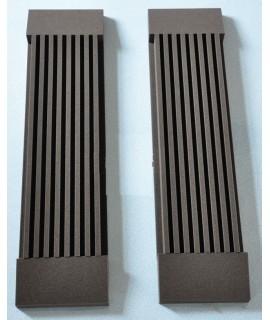 7.5CM 牆壁組合型 長槽 隔音吸音棉