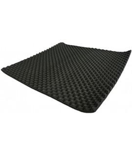 1米X1米 2CM 厚 帶背膠 隔音 波浪棉
