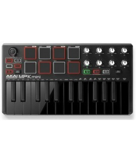 AKAI MPK Mini MK2 MIDI KEYBOARDS BLACK Special Edition 特別版