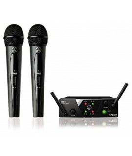 AKG WMS40 mini Dual Wireless Vocal Set microphone system