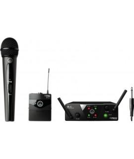 AKG WMS40 Mini Dual VOCAL Instrument Set (mini2 Mix Set)