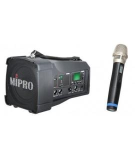 MIPRO MA-100SB 迷你無線喊話器 單咪款 無線擴音器喇叭