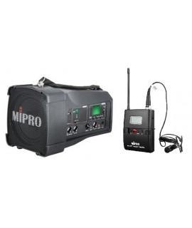 MIPRO MA-100SB 迷你無線喊話器 夾咪款 無線擴音器喇叭