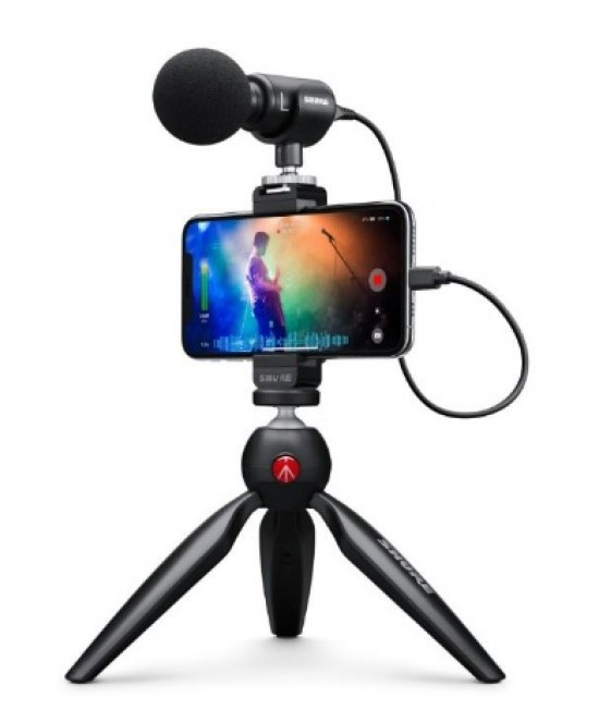 Shure MV88+ Video Kit mobile condenser microphone 攝錄套裝