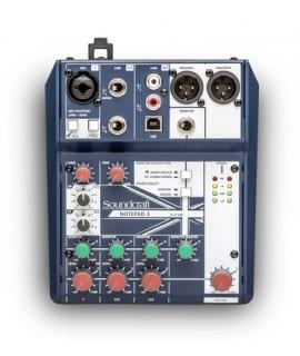 Soundcraft Notepad-5 Professional Audio Mixers