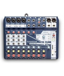 Soundcraft Notepad-12FX Professional Audio Mixers
