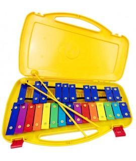 25音鋁板 鋼片琴 手敲琴 盒裝