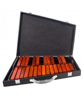 25音 木片琴 黑盒裝