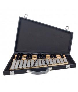 25音鋁板 鋼片琴 黑盒裝