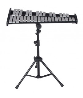 32音鋁板 鋼片琴 連升降支架