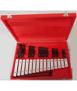 25音鋁板 鋼片琴 手敲琴 木盒裝