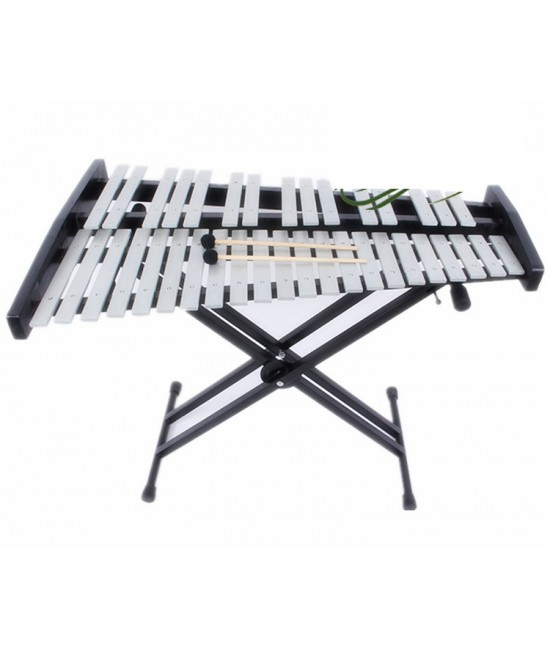 37音鋁板 鋼片琴 連X型琴架