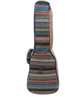 民族刺繡款-雙肩加厚小吉他棉袋