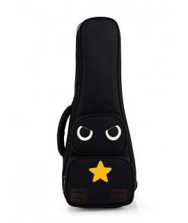 貓頭鷹款-雙肩加厚小吉他棉袋