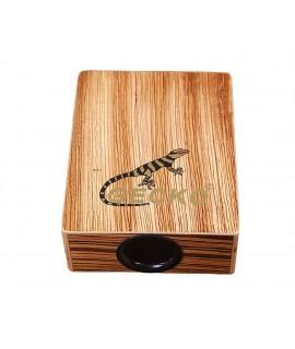 GECKO 旅行款 斑馬木 木箱鼓