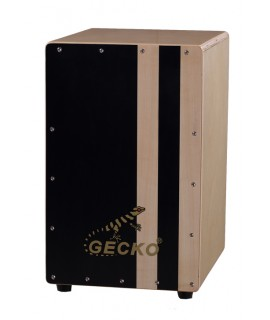 GECKO 樺木雙色紋 木箱鼓