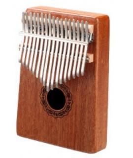 K17 17音 便携卡林巴 桃花芯木拇指琴 KALIMBA