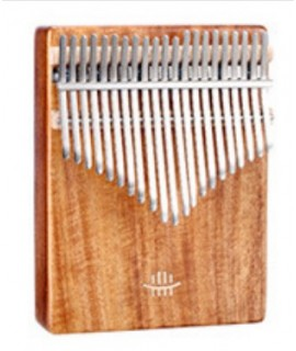K21 21音 便携卡林巴 桃花芯木拇指琴 KALIMBA