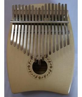 GECKO K17SP 17音 便携卡林巴 雲杉木拇指琴 KALIMBA