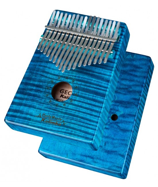 GECKO MC-L / MC-S 17音 便携卡林巴 虎紋楓木 拇指琴 KALIMBA