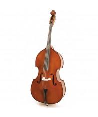二手 CS-DB  3/4 虎紋低音大提琴