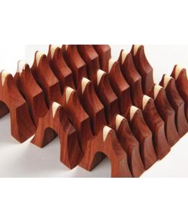 紅木古箏琴碼 1至21碼套裝 倒三角牛骨弦槽