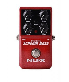 NUX SCREAM BASS 過載效果器