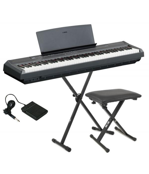 Yamaha p 48 p115 p115b p115 wh yamaha p45 p45b p45 for Yamaha p105 digital piano bundle