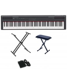 Yamaha P-115 BK / WH (Piano Only Package)
