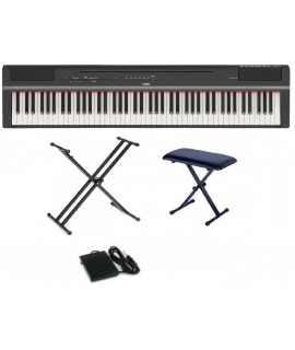 Yamaha P-125 BK / WH (中文面板)  (Piano Only Package)