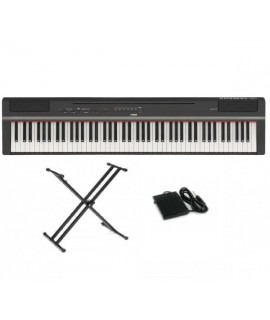 YAMAHA P-125 BK / WH (中文面板) (X STAND PACKAGE)