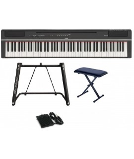 Yamaha P-125 BK / WH (中文面板)  (U-stand Package)