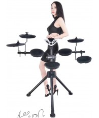 門市陳列電子鼓 NUX DM-1 可折叠便携 電子鼓