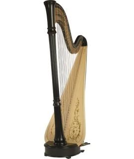 美國 Lyon & Healy Style 85 CG Concert Grand Pedal Harp 47弦豎琴