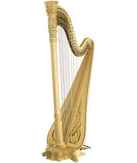 美國 Lyon & Healy Style 23 Concert Grand Pedal Harp 47弦豎琴