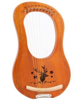 10弦 萊雅琴 lyre harp 馴鹿款