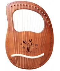 16弦 萊雅琴 lyre harp 馴鹿款