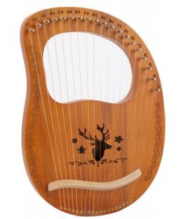 19弦 萊雅琴 lyre harp 馴鹿款
