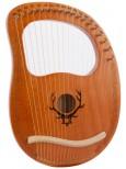 19弦 萊雅琴 lyre harp 六芒星款